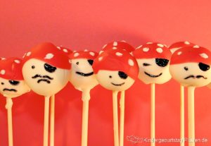 Piraten Cake Pops