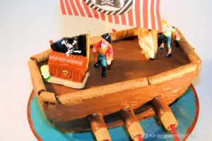 Piratenschiff backen